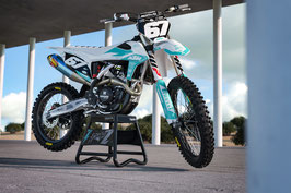 Dekor Factory KTM White - Teal Limited Edition