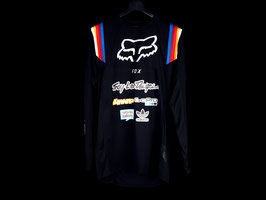 Fox Motocross-Jersey Flexair Black