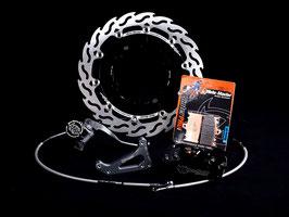 Moto-Master Flame Oversize Bremsscheibenkit für Supermoto 320mm