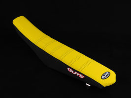 GUTS Factory Sitzbankbezug Suzuki Yellow Top - Black Sides - Yellow Ribs