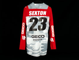 Shift Motocross-Jersey Snow Camo