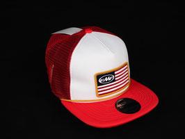 SNAPBACK CAP FMF ROT/WEISS