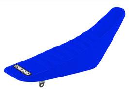 Sitzbankbezug Yamaha Blue Top - Blue Sides - Black Ribs