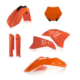 Acerbis Plastik Full Kit KTM SX SXF 08 - 10