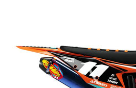 Numberplates Factory KTM Sziget Black Limited Edition mit eurer eigenen Startnummer