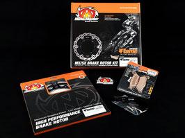 Moto-Master Flame Oversize Bremsscheibenkit für Supermoto 270mm