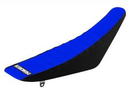 Sitzbankbezug Suzuki Blue Top - Black Sides - Blue Ribs