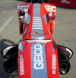 Sitzbankbezug Geico Honda 2020 Chrome Limited Edition