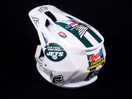 Fox Motocross-Helm Geico Honda