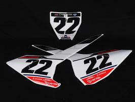 Numberplates Chad Reed Factory Husqvarna Special Edition mit eurer eigenen Startnummer