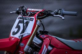 Numberplates Justin Barcia Retro Honda mit eurer eigenen Startnummer