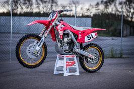 Dekor Justin Barcia Retro Honda