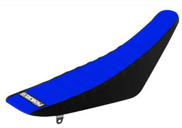 Sitzbankbezug Yamaha Blue Top - Black Sides - Blue Ribs