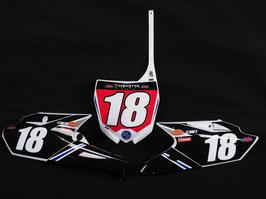 Numberplates Star Racing Yamaha mit eurer eigenen Startnummer