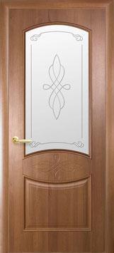 """Дверь """"Донна"""" (глухая или стекло R1)"""