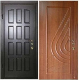 Двери на заказ. Модель ДМ-1 1000*2040