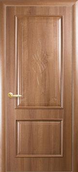"""Дверь """"Вилла"""" (глухая с гравировкой или стекло R1)"""