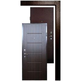 Дверь APECSв М/МДФ 860 Л/П орех СтандN