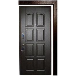 Дверь APECSв МДФ/МДФ Премьер 860 Л/П венге