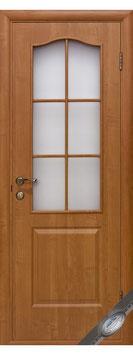 """Дверь """"Фортис-BG"""" (стекло матов)"""