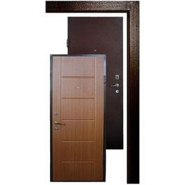 Дверь APECSв М/МДФ 860 Л/П з.дуб СтандN