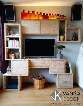 TV Wandmeubel - Lijn 1