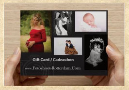 Gift Card for Vacation Photography - Gold Package (including photographer's travel expenses to the city center of Rotterdam)