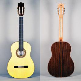 """Guitarra Flamenca de Concierto, Modelo """"Nacho Estévez"""",  Miguel Mateo."""