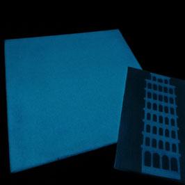 Malkarton 20x20 cm selbstleuchtende