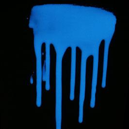 Phosphoreszierender Acryl Lack blauleuchtend V.3