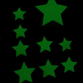 Sticker Leucht-Sterne - kostenlos aus Facebook-Werbung