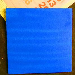 Buntfarbe Blau leuchtend