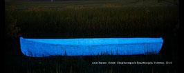 Holz-Acrylfarbe blau