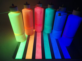 Airbrush SET Leucht-Farbe 6x100ml