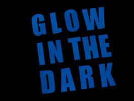 Buchstaben IMPACT Glow-in-the-Dark