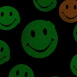 Sticker Leucht Smileys 9er-Set