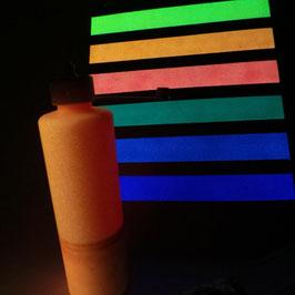 Airbrushfarbe ORANGE 200ml Flasche