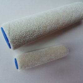 Lack-Walzen in zwei Größen