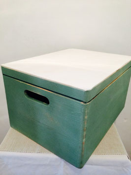 Margit Anglmaier: Box Shabby Chic Green White groß