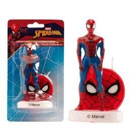 "Kerze ""Spiderman"" 9cm - 3D"