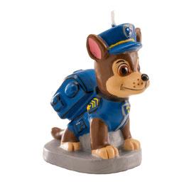 """Kerze """"Chase Paw Patrol"""" 7cm - 3D"""