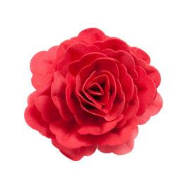 Blumendeko - Rote Rose - 12,5cm