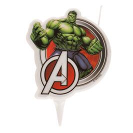 """Kerze """"Hulk"""" 9cm - 2D"""