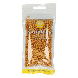 Wilton Sprinkles -Gold/ Silber Small Confetti- 56g