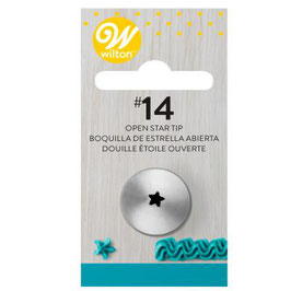 Wilton Decorating Tip - Open Star Carded