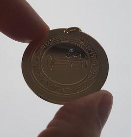 DAS MÄCHTIGSTE ADON DER WELT Gold 333/ mit 3 Saphiren