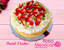 Pastel tres leches chico