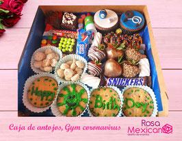 Caja de antojos Gym coronavirus