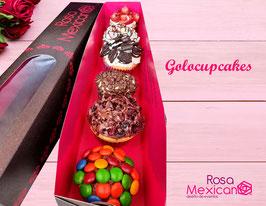 Golocupcakes (Solo en la compra de mas productos que sumen $250.00 mas envío.)