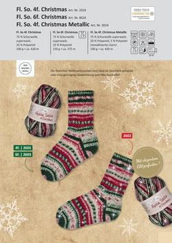 Rellana Flotte Socke Christmas 6fach